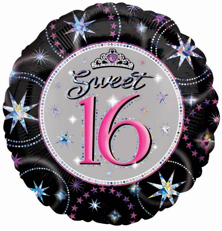 Sweet 16th Sparkle Foil